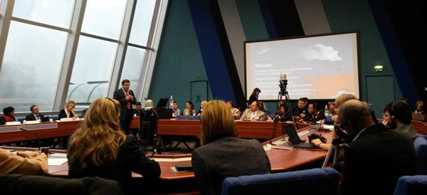 Илья Массух представил РОИ в Совете Европы